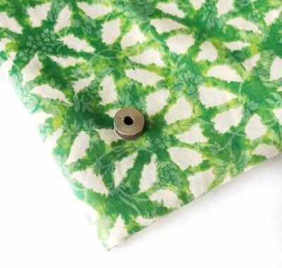 Green Lightweight Modal Cotton Fabric