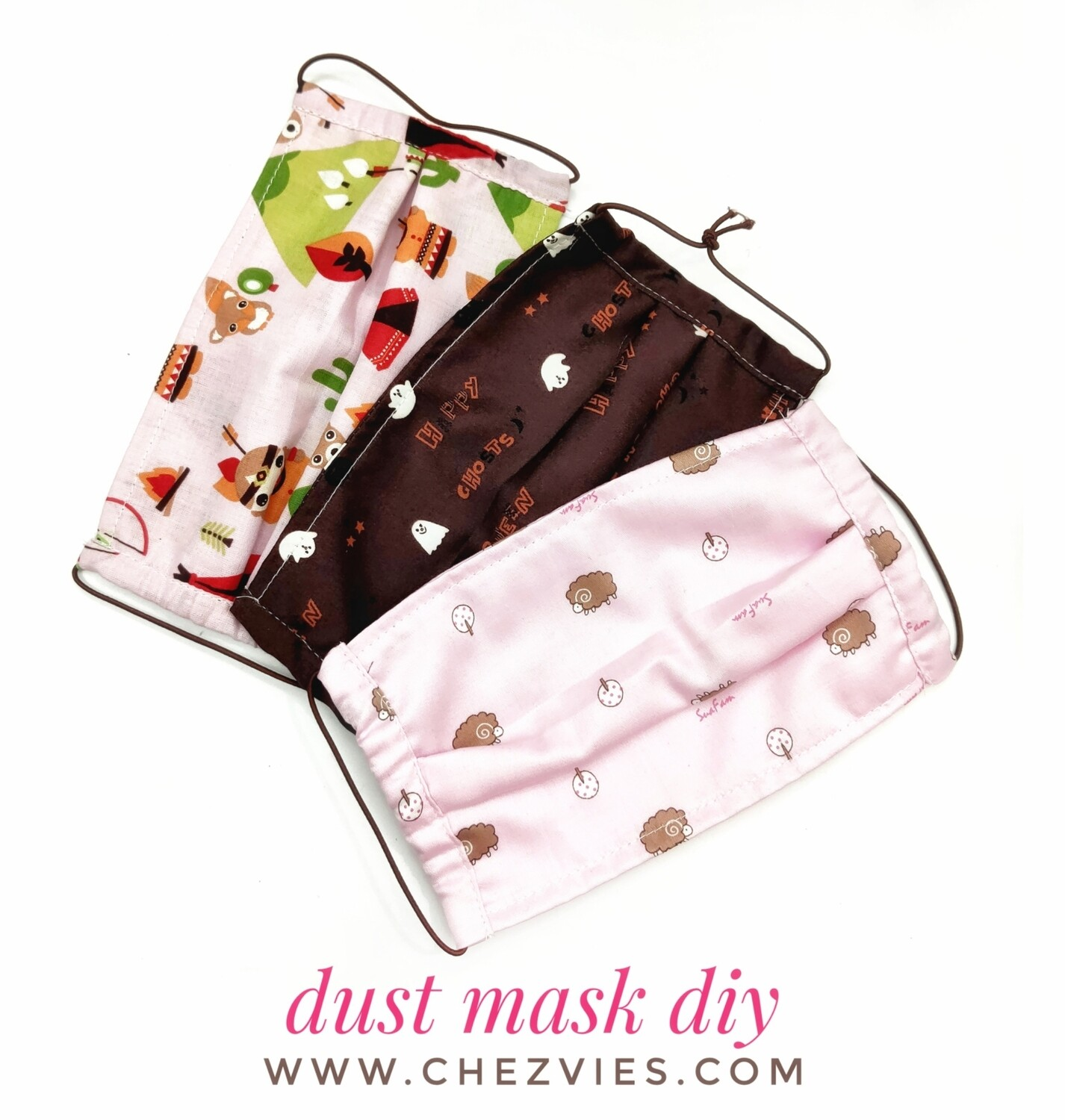 Pdf Pattern Tutorial - Fabric Dust Mask