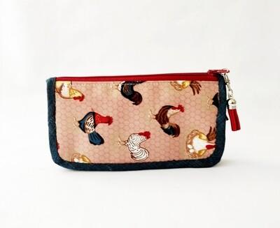 Rooster Zip Around Wallet