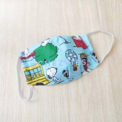 Snoopy Print Face Mask - Limited Stock - Preorder
