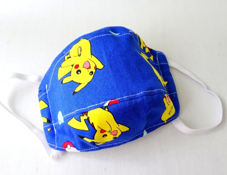 Blue Pokemon Spacious 3D Face Mask - Exclusive Design -PRE ORDER