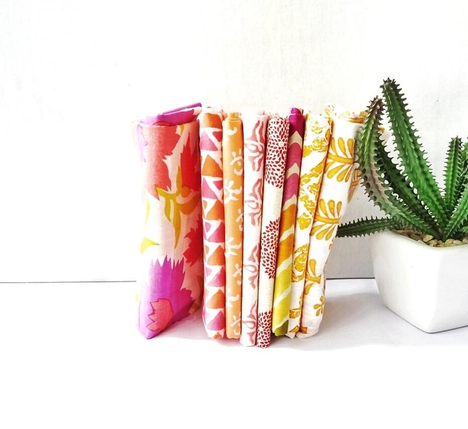 Peach Fabric Bundle - Fat Quarter Bundle