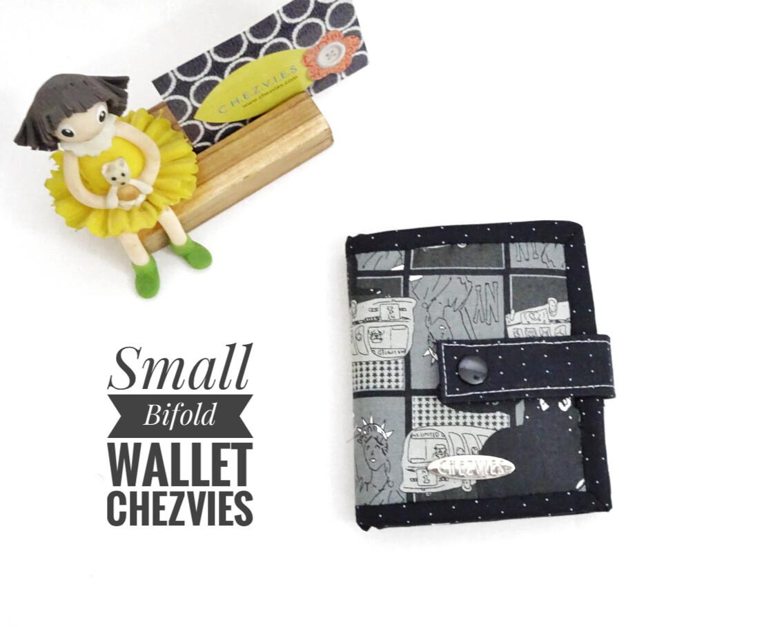 Small Zip Around Bifold Wallet