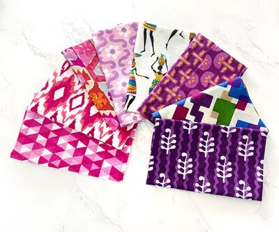 Pink Purple Fat 8 Bundle