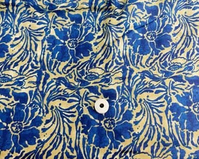 Blue Lightweight Modal Cotton Dress Material