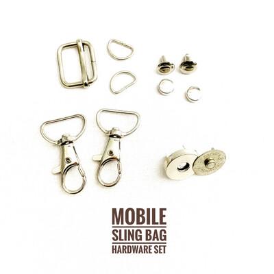 Mobile Sling Bag Hardware Set