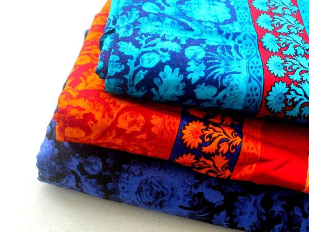 Glace cotton fabric - 3 colorways available