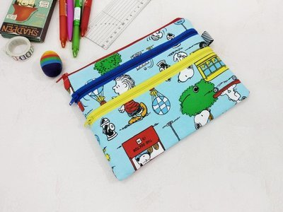 Snoopy Multi Zipper Pouch, Pencil Case, Pre-Order