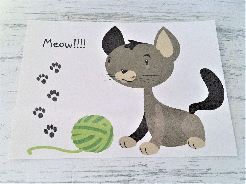 Greeting Card - Cat