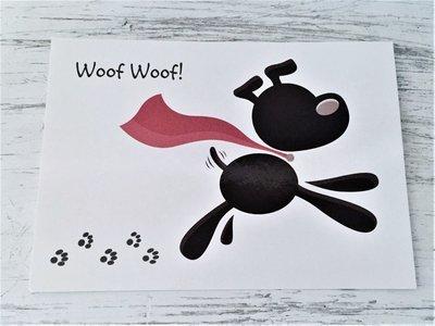 Greeting Card - Dog