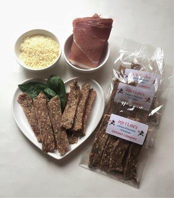 Chicken, Prosciutto & Parmesan Chompers