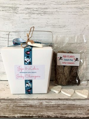 Gift Boxes - Puppy Dog Ribbon