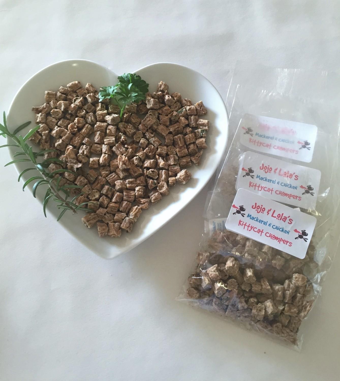 Mackerel & Chicken KittyCat Chompers
