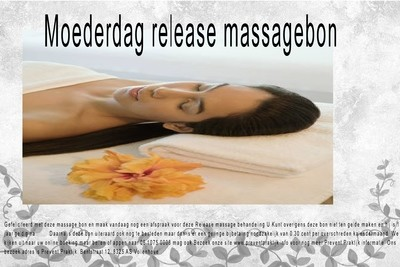 Body stress release massage bon               (MOEDERDAG).