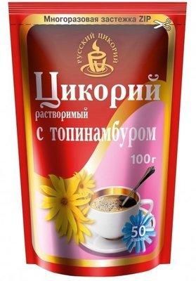 ЦИКОРИЙ РАСТВОР. 'РУССКИЙ ЦИКОРИЙ' С ТОПИНАМБУРОМ 100 г (дойпак)