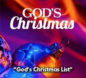 God's Christmas List