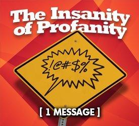 The Insanity of Profanity