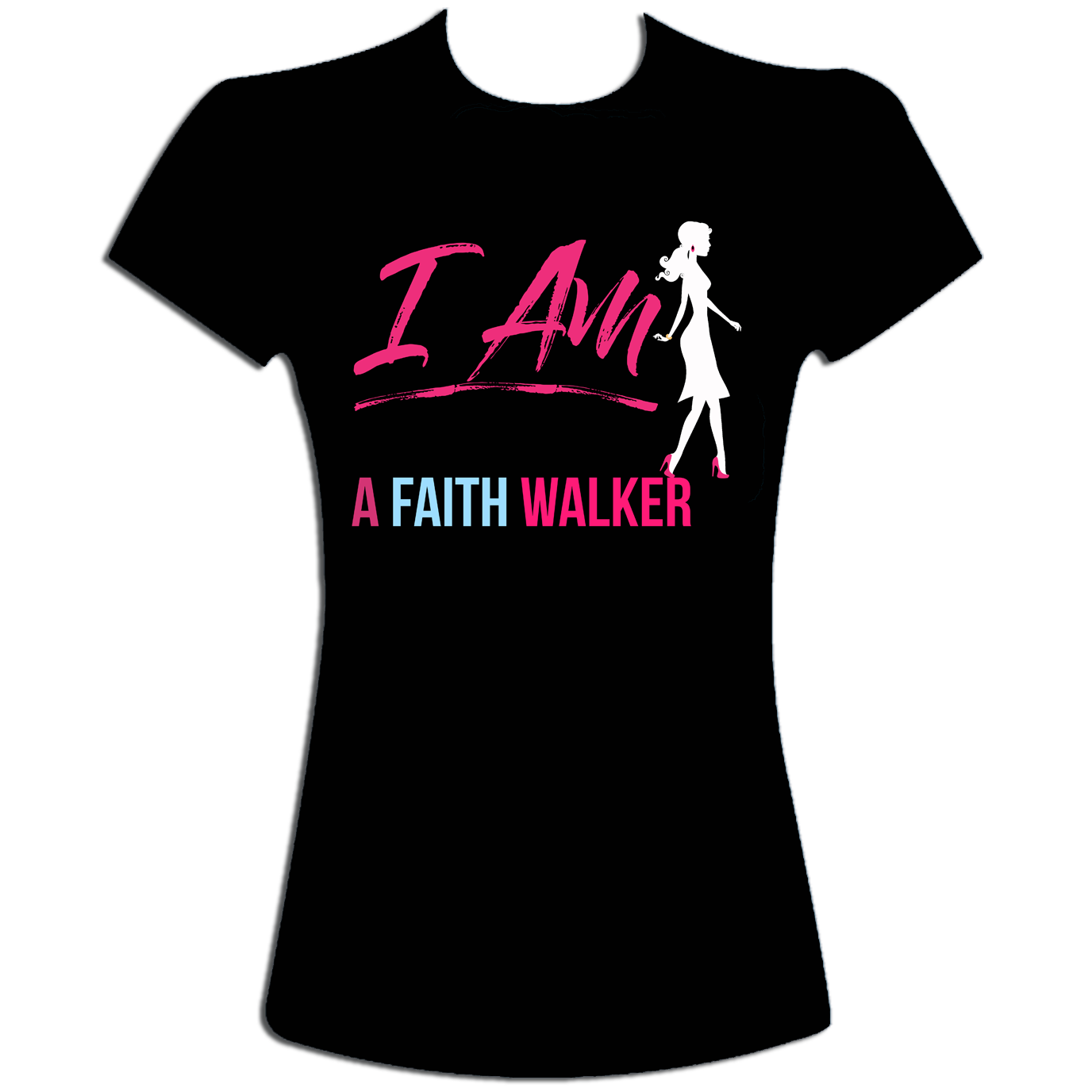 Faith Walker t-shirt (black)