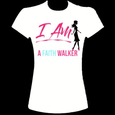 Faith Walker t-shirt (white)