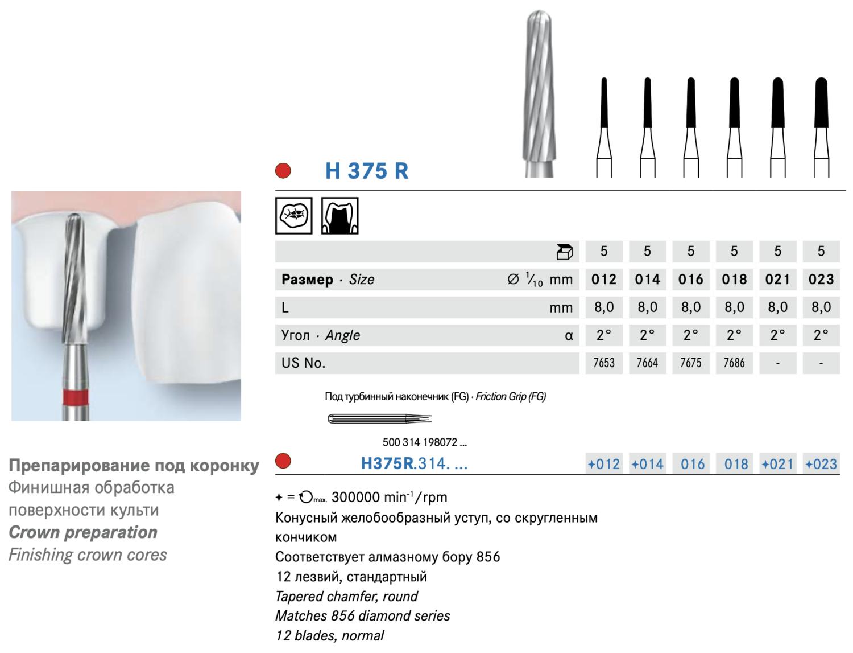KOMET - Freze extraduri (H375R)
