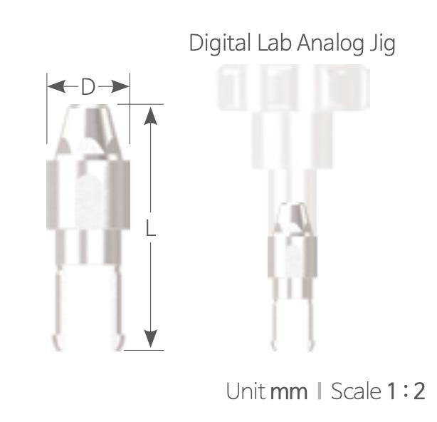 Implant Analog Digital [Digital Analog]
