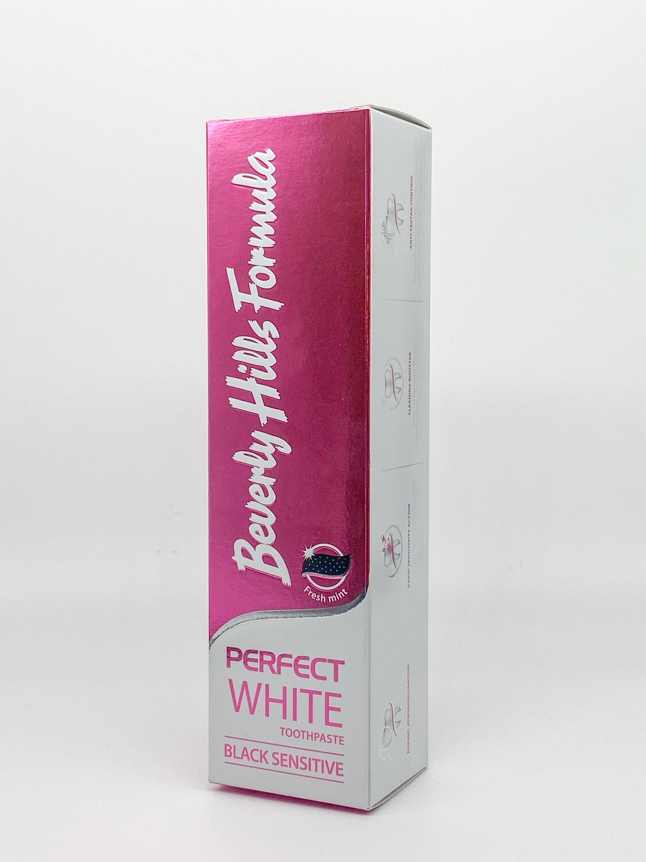 Pasta de dinti Beverly Hills Formula Perfect White Black Sensitive