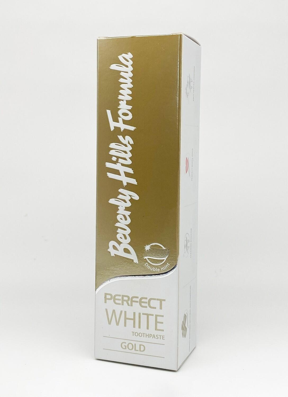 Pasta de dinti Beverly Hills Formula Perfect White Gold 100ml