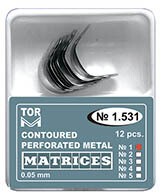 Matrice metalice perforate conturate