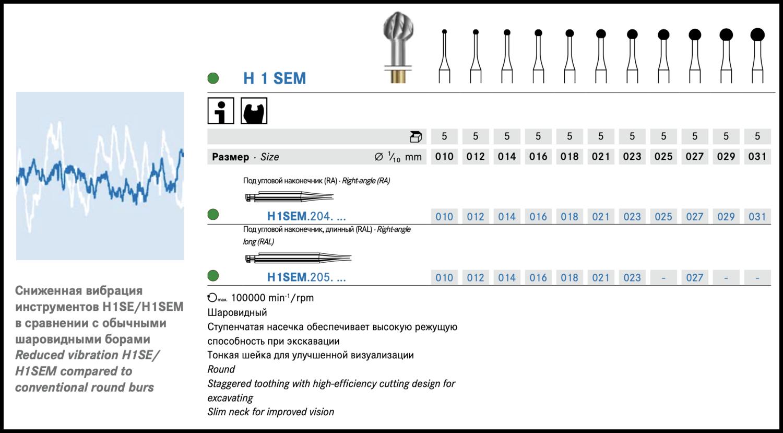 Freza extradura H1SEM / 205 RAL (piesa unghi)