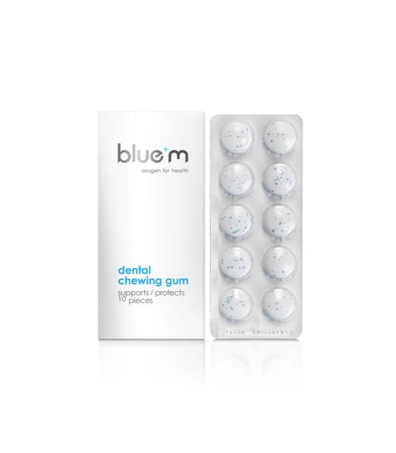 Guma de mestecat blue®m