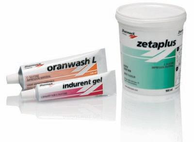 Zetaplus + Oranwash +Indurent gel
