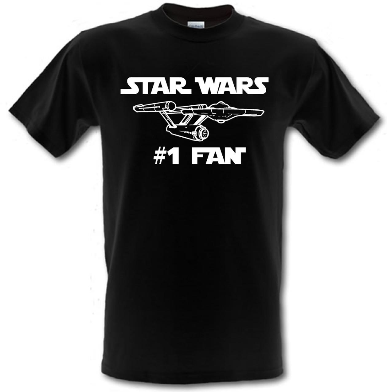 STAR WARS/ STAR TREK NO 1 FAN