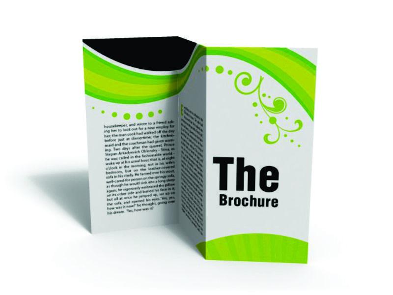 Opúsculo (Brochures)  a Todo Color