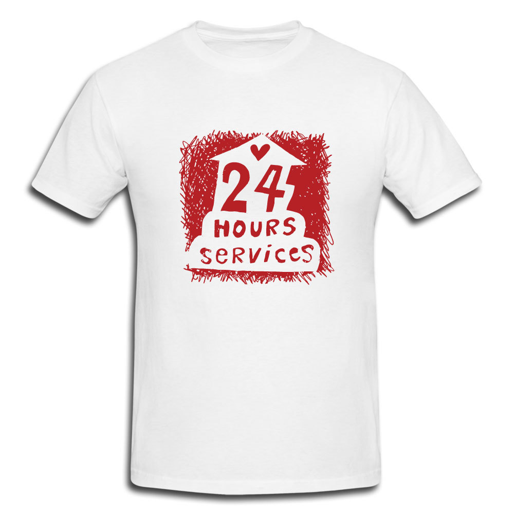 Camiseta Blanca con Serigrafía impresa en 2 Lados