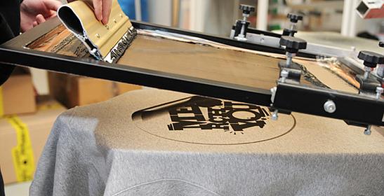Impresión en Serigrafía para prendas Blancas o Colores Claros