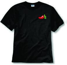 Camisetas de Color en Algodón con Bordado