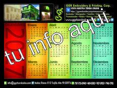 Calendario de Pagina Entera