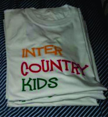 Camisetas  Estampadas con Vinilo Textil en (3) Colores