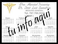 Calendario de 1/4 de Pagina