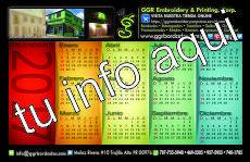 Calendario de Media Pagina