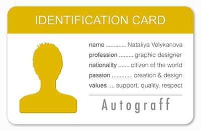Tarjetas de Identificación