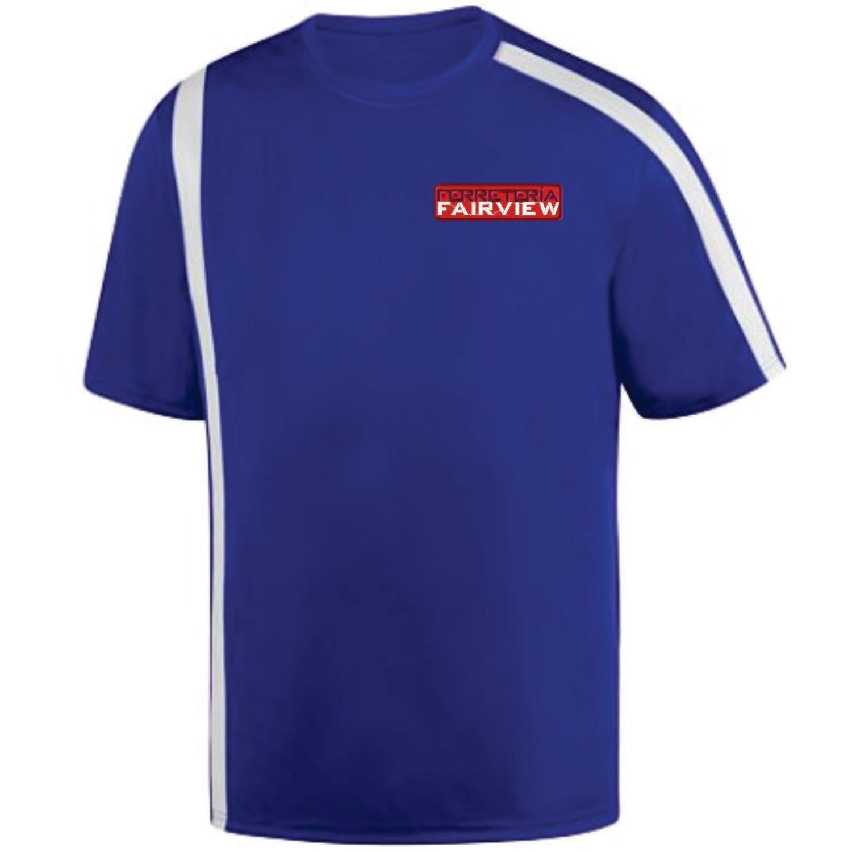 Camisetas de Color Dos Tonos Unisex Microfibra (Dry fit) con Bordado