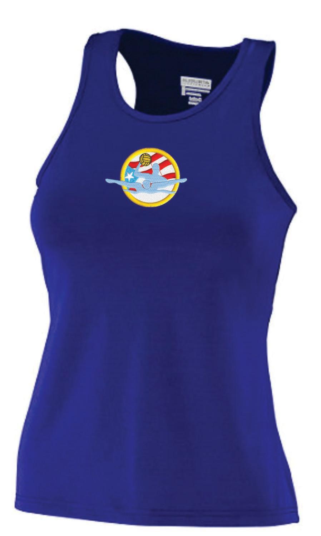 Camisetas (Tank top-Racerback) Microfibra (Dry fit) para dama con Bordado