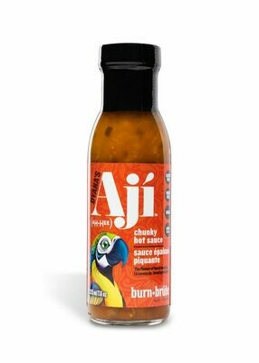 Aji Burn, Hot Sauce (225 ml)