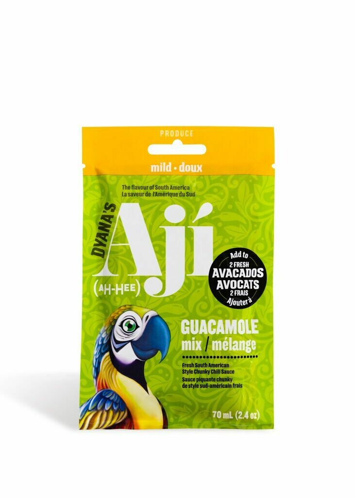 Aji Original Mild, Pouch - Guacamole Mix (box of 12)