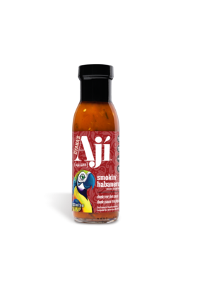 Aji Smokin' Habanero, Hot Sauce (225 ml)