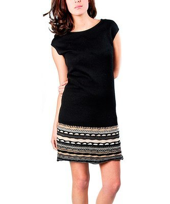 Lucinda Sweater Dress, black