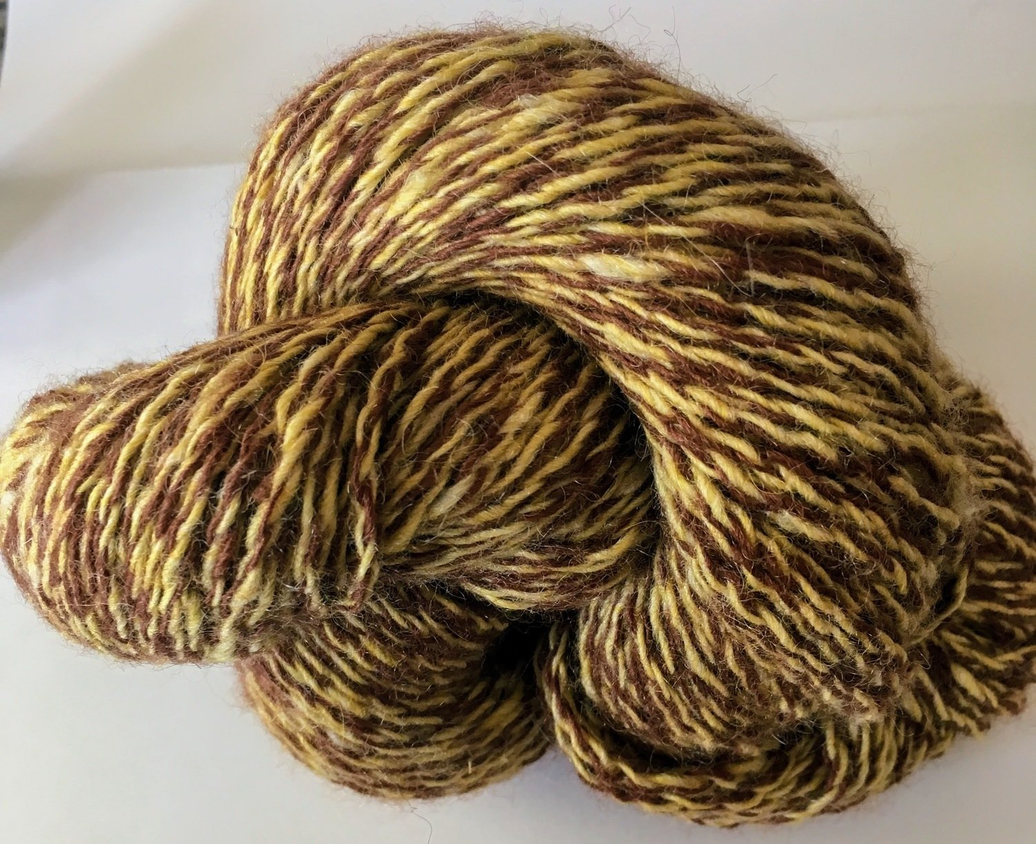Breezy Hill Cottage-Milled, Hand-Dyed Yarn - Sandy Beach