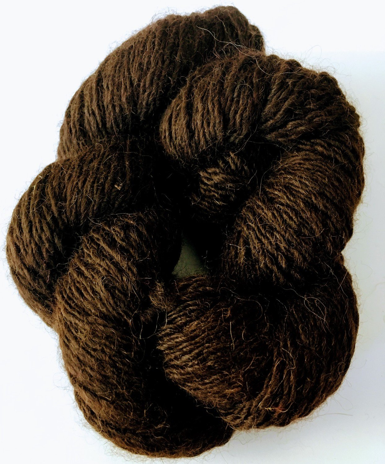 Breezy Hill Cottage-Milled, Hand-Dyed Yarn - Chocolate