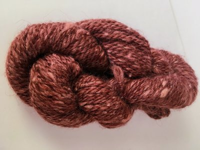 Breezy Hill Cottage-Milled, Hand-Dyed Yarn - Wine